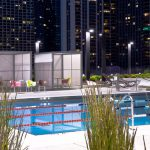 Chicago: Aqua Pool Deck